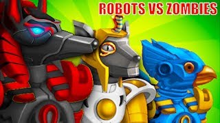 Car Games for Kids - ROBOTS VS ZOMBIES Android Game for Kids