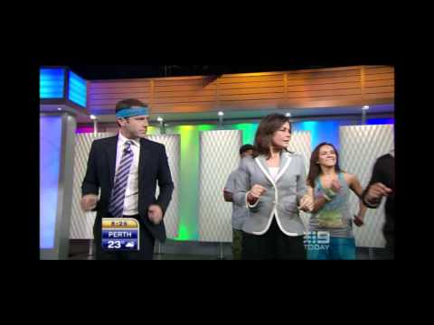 Zumba Creator Beto Perez on the Today Show Australia