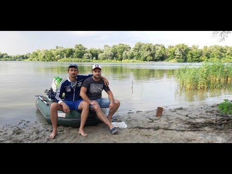 Рыболовные приключения в ст.Ольгинская. Сплав на Шишловский остров.