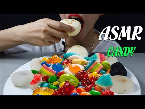 ASMR GUMMY CANDY MUKBANG (EATING SOUNDS) NO Talking | ADX-ASMR