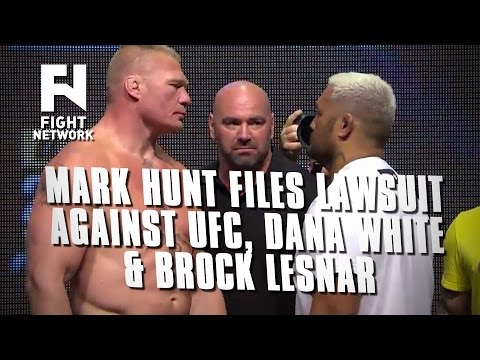 Mark Hunt Filing Lawsuit Against UFC, Dana White and Brock Lesnar