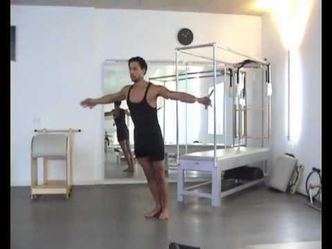 Joseph Pilates Arm Springs & Push-Up Device By Bluebird Pilates Munich
