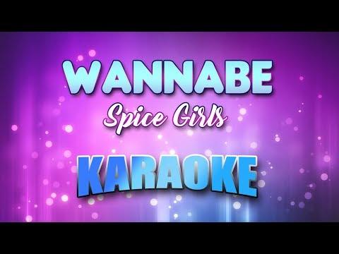 Spice Girls - Wannabe(Karaoke version with Lyrics)