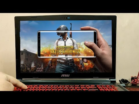 PUBG Mobile Gameplay on MSI GL63 8RE-455IN (GTX 1060) (i7 8th Gen) 🔥