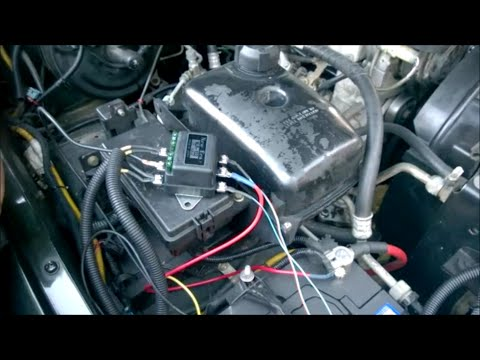 land rover discovery 300tdi diy headlight wiring upgrade youtube rh youtube com Motorcycle Headlight Wiring Diagram Auto Headlight Wiring Diagram