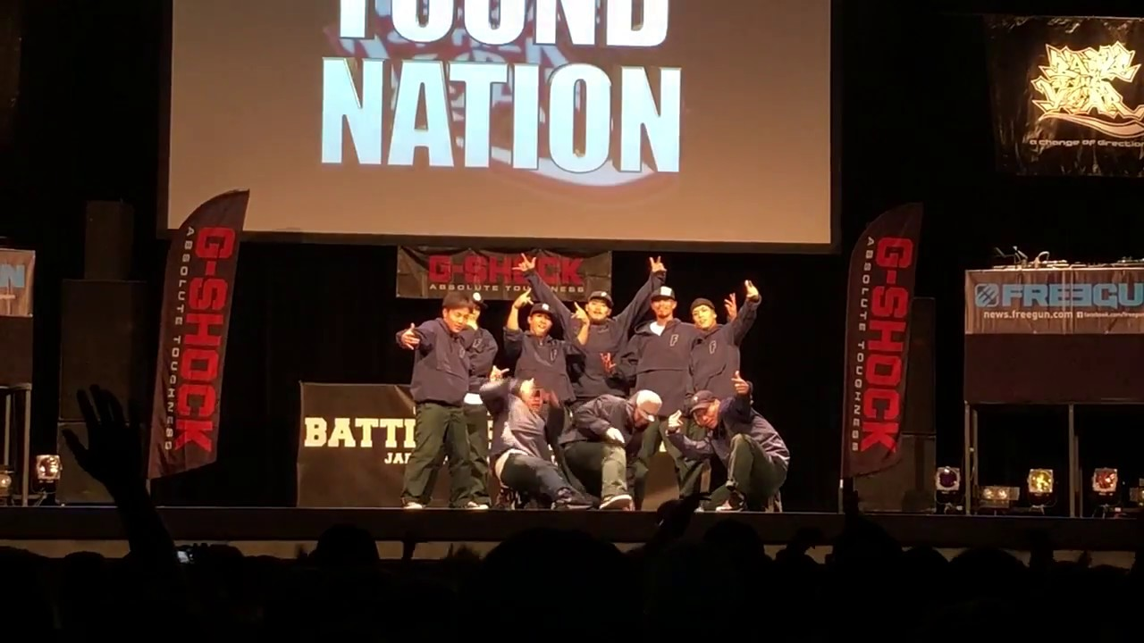 FOUND NATION 【 battle of the year 2018 japan 】BOTY