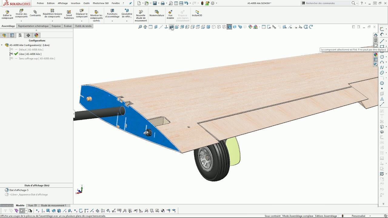 3 Tuto Avion Rc Solidworks Principe De Modelisation Partie 1