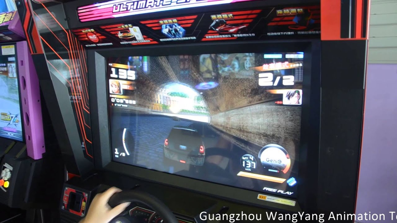 speed driver video racing game arcade machine racing game 4 youtube. Black Bedroom Furniture Sets. Home Design Ideas