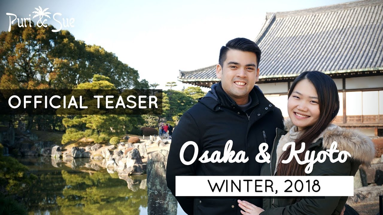 winter in osaka kyoto japan 2018 teaser youtube. Black Bedroom Furniture Sets. Home Design Ideas