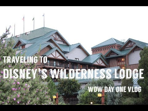 Traveling to Disney's Wilderness Lodge! Walt Disney World Day One June 2017