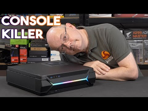 LEO builds into the CONSOLE KILLER PC case - SilverStone RVZ