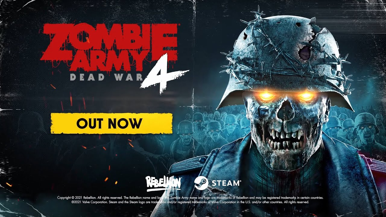 ZOMBIE ARMY 4 DEAD WAR PS5 OFFICIAL TRAILER || Y8GAMER