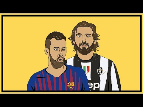 Andrea Pirlo v Sergio Busquets: The Deep Lying Midfielder
