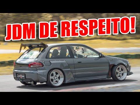 JDM DIFERENCIADO!😱 ROLÊ de Mitsubishi Colt Glxi com swap GTI!👿