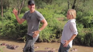Kristen Bell and Dax Shepard's Africa Video Is Way Too Cute | What's Trending Now