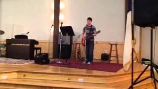 Zach Smith singing AMAZING GRACE MODERN VERSION