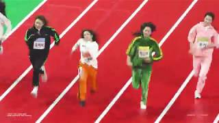190107 아이즈원 (IZONE) 권은비 - 아육대 60m 달리기 직캠 (Fancam)
