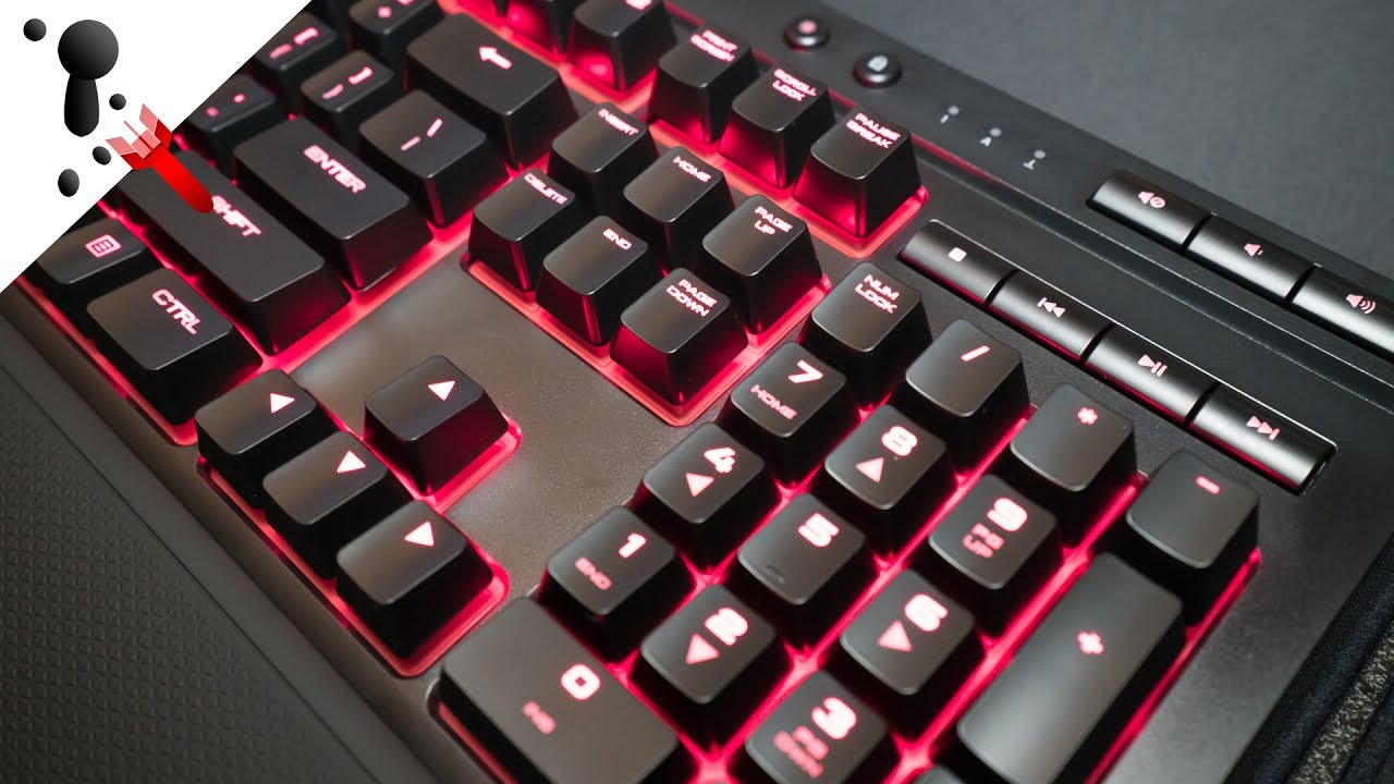 bdafeeac36d Corsair K68 Review with Sound Test (Spill Resistant + Media Keys ...