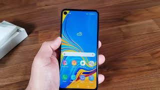 Samsung Galaxy A8s Unboxing & Review