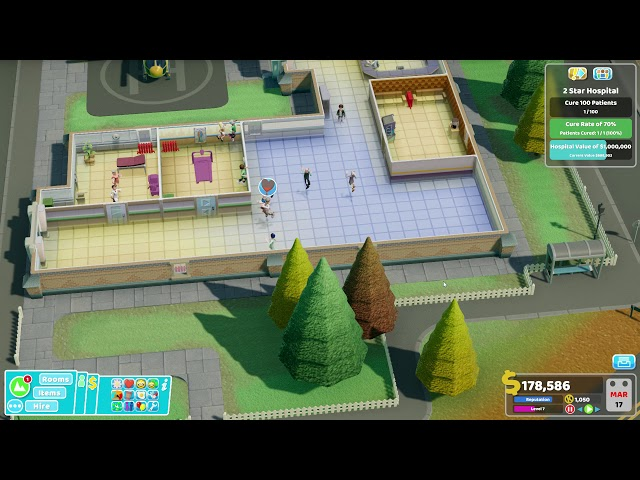 Two Point Hospital - Ep 12 - Reorganising