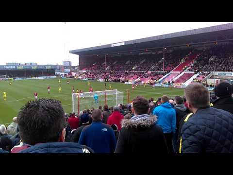 Swindon vs Oxford United 1-2 Liam Sercombe GOAL !!!