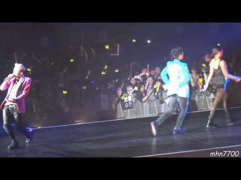 [HD Fancam] 121214 GD & TOP - High High @ Wembley Arena, London