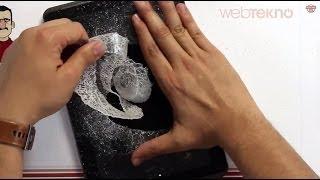 Teknolojiye Atarlanan Adam - Tableti Parçalıyor! (Taş İncelemesi Kamera Arkası)