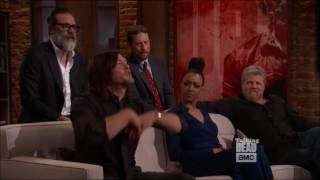 Talking Dead - Norman Reedus excited about Rick's speech