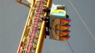Scary Roller Coaster Neck Breaker