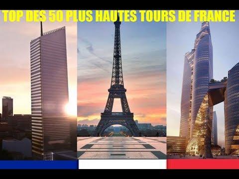 Les 50 plus hautes Tours de France
