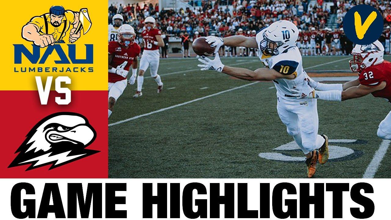 Northern Arizona vs Southern Utah Highlights | FCS 2021 Spring College Football Highlights