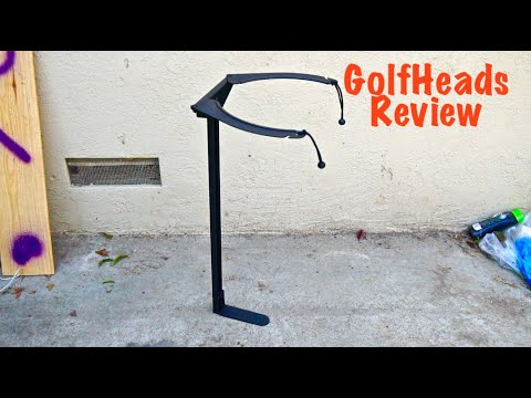 Koova Golf Bag Rack (Review)