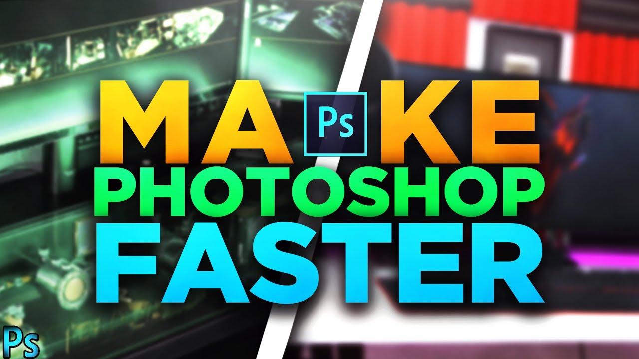 How To Make Photoshop Run Faster! (CC/CS6) INSANE PERFORMANCE BOOST!