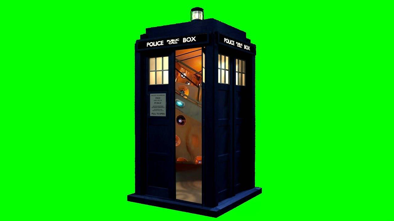 sc 1 st  YouTube & TARDIS DOORS OPENING Free Green Screen Element - YouTube