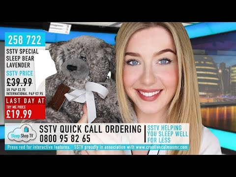 ASMR Shopping Channel TV Softly Spoken Roleplay