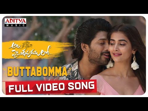 #alavaikunthapurramuloo---buttabomma-full-video-song-(4k)-|-allu-arjun-|-trivikram-|-thaman-s-|#aa19