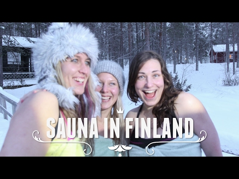 THE BEST SAUNA IN THE WORLD IS IN FINLAND