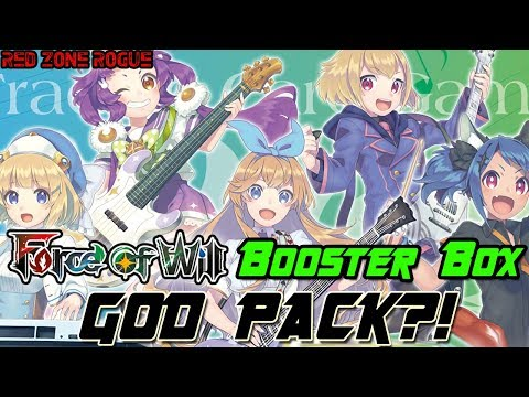 Force of Will ► Echoes of the New World Booster Box Opening ► My First GOD PACK?!