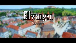 Ellwangen, Germany: by Drone in True 4K