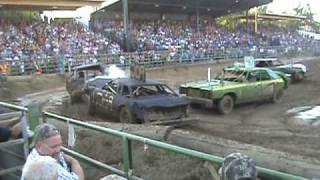 Amador county fair demolition derby 2009
