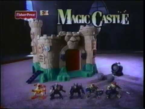 Fisher Price  - Magic Castle Playset  - Imaginext -  Great Adventures -  Commercial (1999)