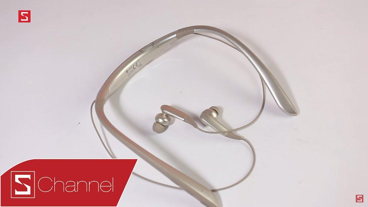 Schannel – Mở hộp tai nghe Bluetooth Samsung Level U Pro: Thiết kế chất, âm thanh chất