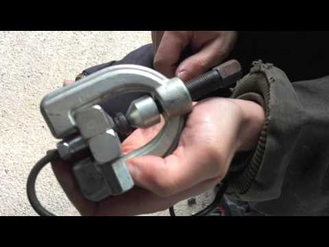 How to Bubble & Double Flare Brake Lines with Brake Line Kit