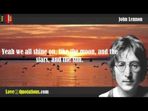 Compilation of John Lennon Inspiring Quotes About Relationship, Love, Stars, Peace, Society