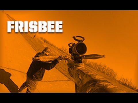 Crossbow Destruction Challenge - Frisbee Toss