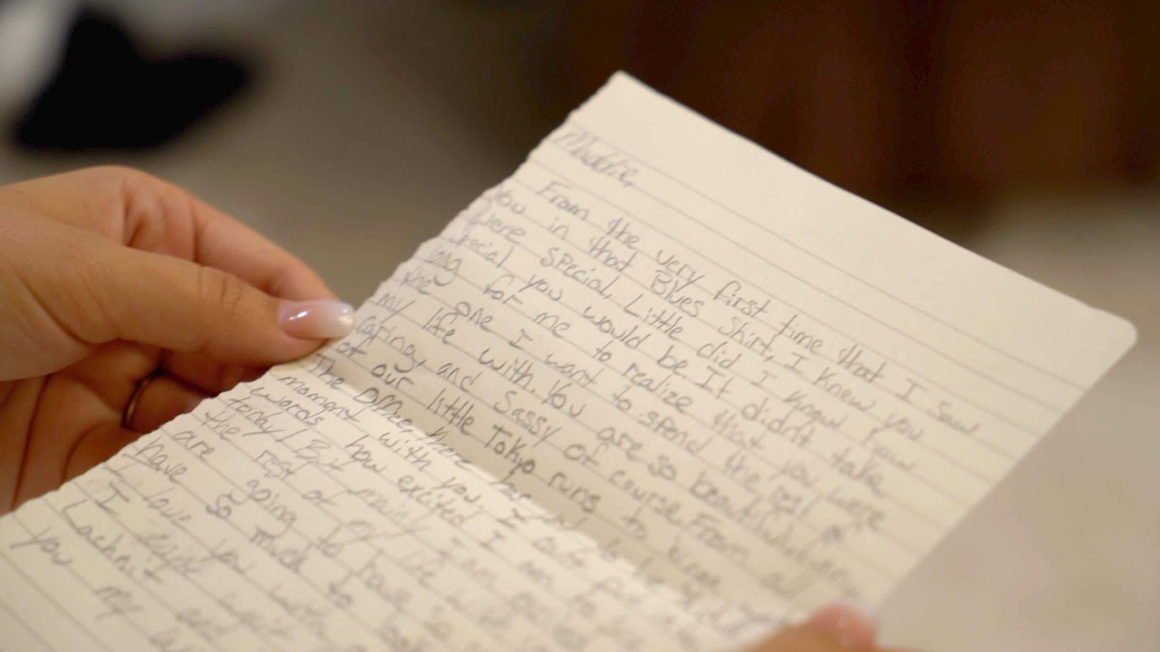Maddie & Josh - Reading Letters