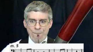 Third Bassoon Lesson: Part 2