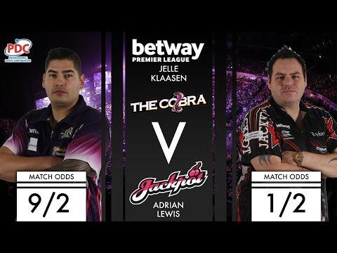 2017 Premier League of Darts Week 8 Klaasen vs Lewis