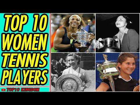 TOP 10 Greatest Tennis Players Female of All Time