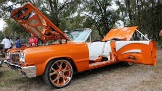 WhipAddict: 64' Chevrolet Impala Convertible on Asanti 22s, Suicide Doors, Bucket Seats